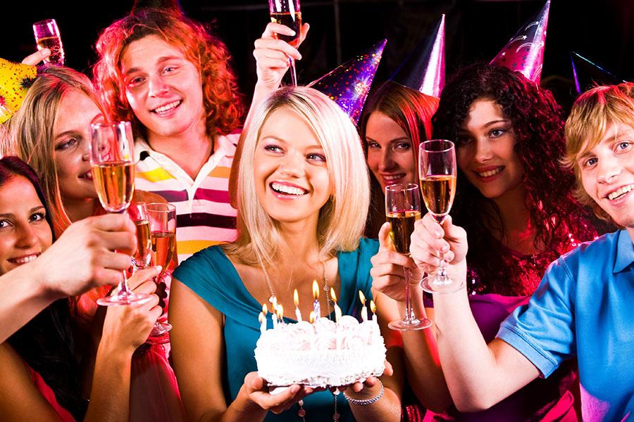 Празднование дня рождения в Одессе